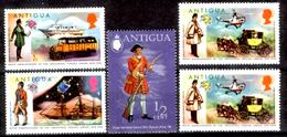 Antigua-023 - Valori Emessi Nel 1973-1974 (+) Hinged - Privi Di Difetti Occulti. - Antigua E Barbuda (1981-...)