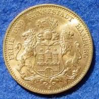 (1047841) Deutsches Kaiserreich. Hamburg 20 Mark Gold 1913-J. Original-Goldmuenze, Gewicht 7,96 G, 900-er Gold. Siehe .. - 5, 10 & 20 Mark Gold