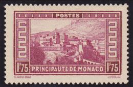 Monaco N° 128 Neuf * - Voir Verso  - - Ungebraucht