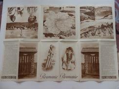 Dépliant Sur La Roumanie. - Werbung