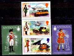 Antigua-024 - Valori Emessi Nel 1973-1974 (+/o) LH/Obliterated - Privi Di Difetti Occulti. - Antigua E Barbuda (1981-...)