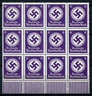 32973) DEUTSCHES REICH Dienst 12mal # 169 B Postfrisch Aus 1942, 114.- € - Officials
