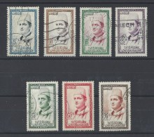 MAROC . YT  362/368 Obl  Mohamed V  1956-57 - Maroc (1956-...)