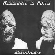 RESISTANCE IS FUTILE ASSIMILATE - EP - INVERTEBRATA - SCREAMO - KONSTRUKT - GRIEVANCE - NO COMPLY - STALINGRAD - Punk