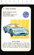 Voiture De Course Type Le Mans MATRA BRM / Auto Automobile / IM 189-B - Old Paper