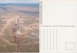 Falkland Islands Mount Pleasant Airport Postcard Unused (33326) - Falkland