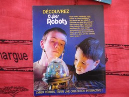 MAGAZINE DECOUVREZ CYBER ROBOTS  (eaglemoss) - Catalogues