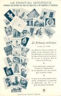 LE FRIBOURG ARTISTIQUE - Carte Multivues,vulgarisation Des Lieux Et Monuments  Du Canton De Fribourg. - FR Fribourg