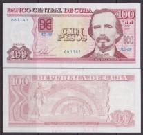 2014-BK-15 CUBA 2014 100$ UNC CARLOS MANUEL DE CESPEDES. - Cuba