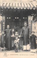 ¤¤   -   CHINE   -   CANTON   -   Un Chef Et Sa Famille  -  Edition A.F. Decoly De Saïgon   -  ¤¤ - Chine
