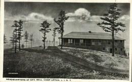 Beau Lot De 7 CPA - Etats-Unis (NY)   Long Island -  Camp UPTON  (belle Animation) - Long Island