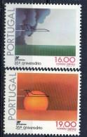 PIA - PORTOGALLO - 1979 :  35° Anniversario Del Trasporto Aereo Portoghese -  (Yv P.A. 12-13) - Neufs