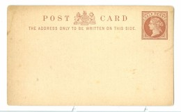 """GB QV Postal Stationery Card 1/2d. Advertising Back """"Whitten´s Embrocation"""" For Lambing Season, Unused. - 1840-1901 (Regina Victoria)"""