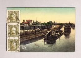 Bosnien U Herzegowina KuK BROD Ansichtskarte Nach Constantinopel Mit Transit Und AK Stempel - Levante-Marken