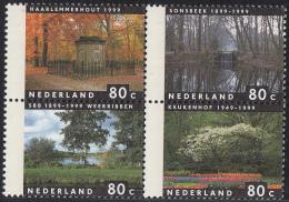 Nederland - Vier Jaargetijden - Haarlemmerhout/Sonsbeek/Weerribben SBB/Keukenhof - MNH -NVPH 1814-1817 - Ungebraucht