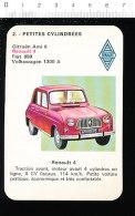 Voiture Renault 4 / 4L / Auto Automobile / IM 189-B - Old Paper