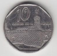@Y@    Cuba  10 Centavos  2000    (3471) - Cuba
