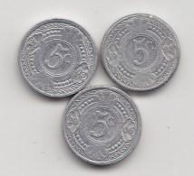@Y@    Nederlandse Antillen   5 Ct  1998 / 2003 / 2006     (3476) - Nederlandse Antillen