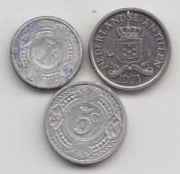 @Y@    Nederlandse Antillen   1 Ct  1991 / 5 Ct 2006 / 10 Ct 1971    (3477) - Nederlandse Antillen