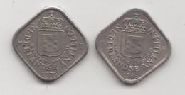 @Y@    Nederlandse Antillen   5 Cent  1976 / 1985     (3478) - Nederlandse Antillen