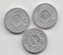 @Y@    Nederlandse Antillen   1 Cent   2000 / 2005 / 2008     (3479) - Antilles Neérlandaises