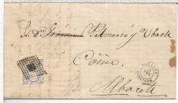 ALMANSA ALBACETE CC 1871 MAT ROMBO DE PUNTOS - Cartas