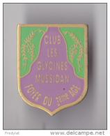 PIN´S THEME VILLE DE MUSSIDAN EN DORDOGNE CLUB DES GLYCINES FOYER DU 3 EME AGE - Cities