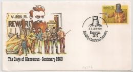 THE SIEGE OF GLENROWAN CENTANARY 1980. AUSTRALIA. - Premiers Jours (FDC)
