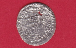 Hongrie - Léopold 1er - 1 Denier Argent - 1679 - Hungría