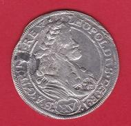 Hongrie - Léopold 1er - 15 Krajczar Argent 1678 - Hungría