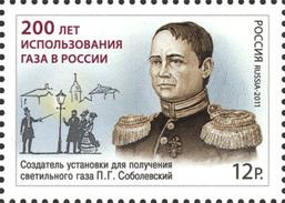 * Russia 2011 Mi. 1773 Gas Usage In Russia MNH ** - Neufs
