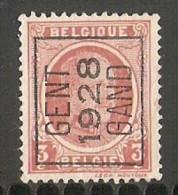 Gent 1928 Typo Nr. 168A - Typos 1922-31 (Houyoux)