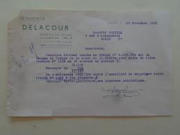 """Damville  Eure """" Vetements Delacour """" 1953 - Textile & Vestimentaire"""