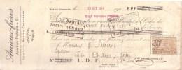 LOIRE ATLANTIQUE - NANTES , CHANTENAY - LETTRE DE CHANGE - AMIEUX FRERES & CIE - 1924 - Lettres De Change