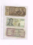 3 X Tchécoslovaquie, Belgique, Romania - Specimen