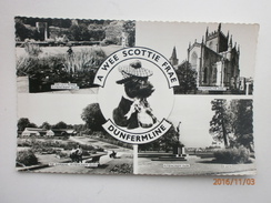 Postcard Multiview A Wee Scottie Frae Dunfermline My Ref B1168 - Fife