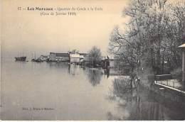 78 - LES MUREAUX ( Inondations De Janvier 1910 ) - Quartier Du Cercle à Voile  - CPA - Yvelines - Les Mureaux