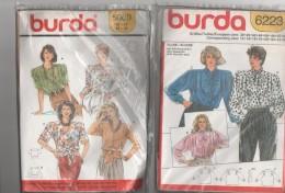 Lot 13 Anciens Patrons Pour Femme Années 60/80   Burda..Bru..Paris - Patrons