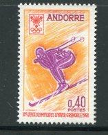 ANDORRE- Y&T N°187- Neuf Sans Charnière ** - Andorre Français