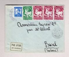 Bulgarien SOFIA Poste Aérienne 28.7.1938 R-Brief Nach Basel Mit Transit Stempel Flugfeld Wien-Aspern - 1909-45 Royaume