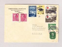 Bulgarien SOFIA Brief Nach Burgdorf - 1909-45 Royaume