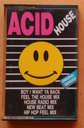 ACID HOUSE. CASSETE SIN USO. - Cassettes Audio