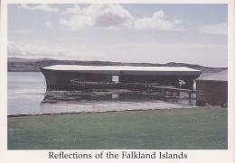 "Falkland Islands Port Louis ""The First Settlement""  Postcard Unused (33340) - Falkland"