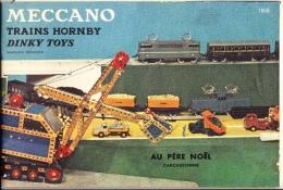 """""""CATALOGUE MECCANO TRAINS HORNBY DINKY TOYS 1959 """"- Livret De 32 Pages + Tarifs Sur 4 Pages - Other"""