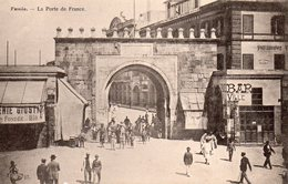 8704. CPA TUNISIE. TUNIS. LA PORTE DE FRANCE - Tunisie