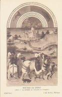 Histoire De France        23        Heures Du Duc De Berry.Août.La Chasse Au Faucon.Etampes ( Chantilly ) - Histoire