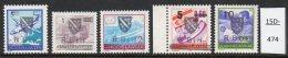 1994 Bosnia (Croatian Posts) RBiH East Mostar Local Set/5 Aircraft,ship,mail Van,postman,postbox ,telephone  Mi L1-5 MNH - Bosnia And Herzegovina