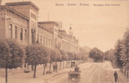 ZEMUN_SEMLIN_ZIMONY HAUPTGASSE_HOTEL STREICHER - Serbie