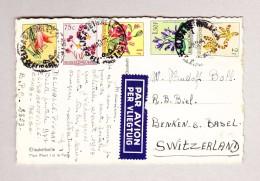 Belgisch Kongo - Elisabethville 4-10-1955 Ansichtskarte Nach Benken B Biel - Congo Belge