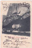 Mezzolombardo - Il Castello Viaggiata 1898          C705 - Italia